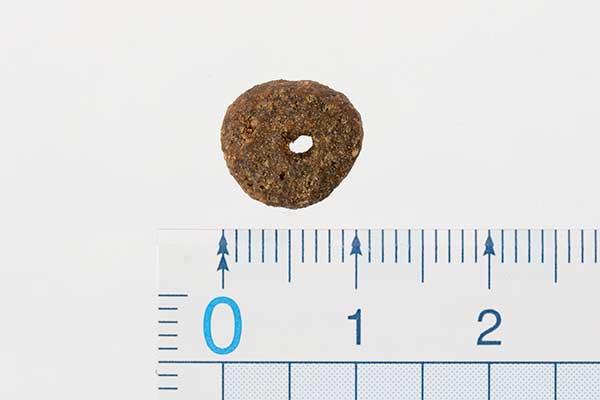 モグワンの粒の大きさ