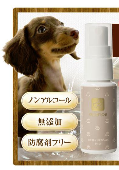 犬用化粧水avance